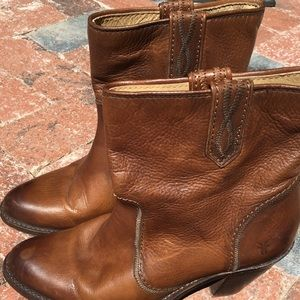 Frye Western Inspired Bootie Size 8